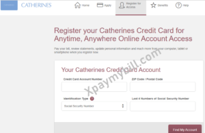 catherines.com pay bill